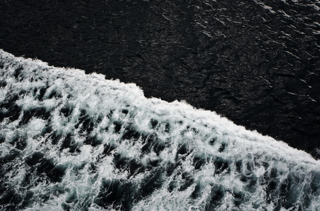 Black waters RV Polarstern Fram Strait Arctic Arktis Sea Meer