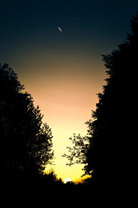 Comic Sunset Sonnenuntergang Sky Himmel Summer Sommer