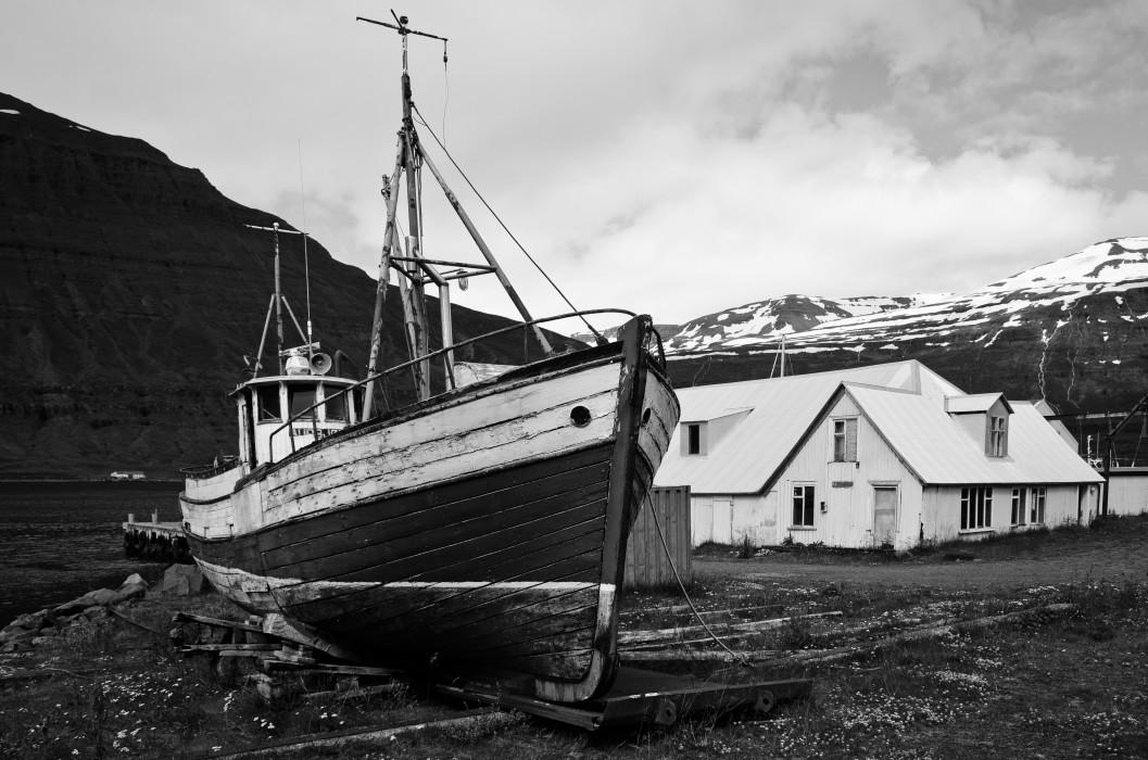 Faith Seydisfjordur Iceland Island Ship Schiff