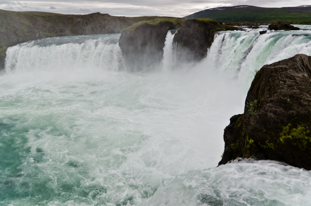 False gods Godafoss Iceland Island Waterfall Wasserfall Water Wasser