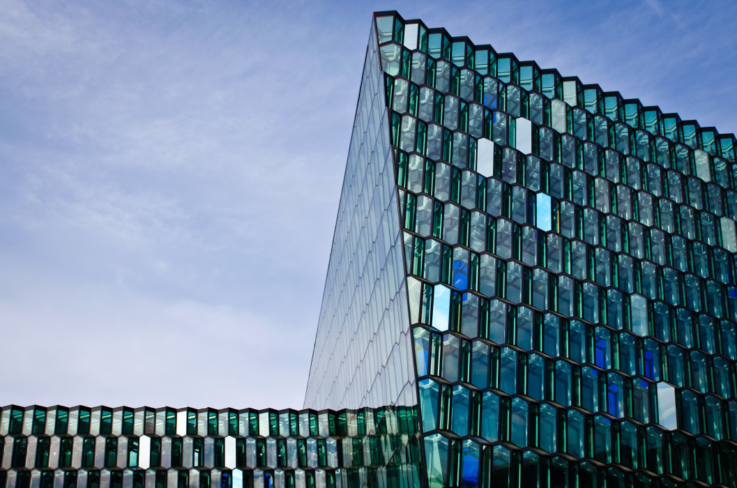 Geometry Reykjavik Harpa Opera Architecture Architektur