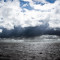 Good versus Evil Cloud Wolken Sea Meer