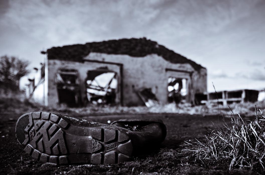 Human remains Abandoned LPG Zingst Macro Makro