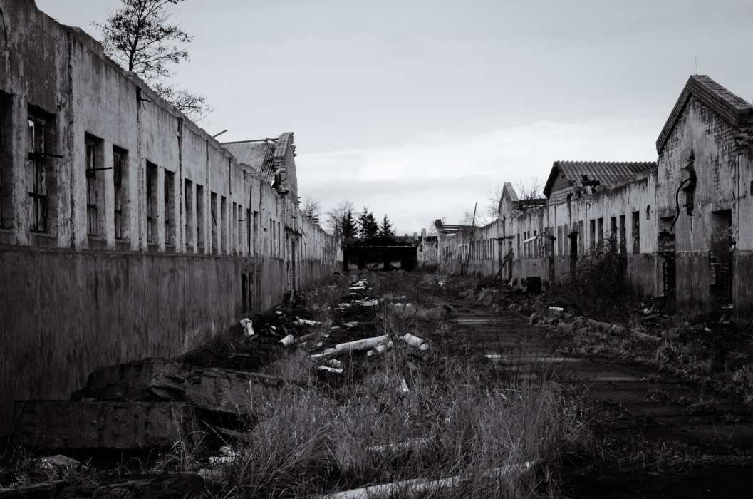 Abandoned LPG Zingst