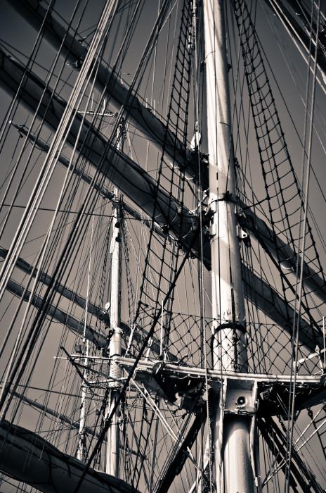 Lost Track Training Ship Kruzenshtern Schulschiff Schiff