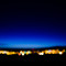 Midnight sun Reykjavik Night Nacht Bokeh