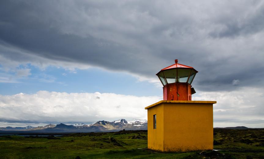 Outpost Snaefellsnes Öndverdarnes Iceland Island Lighthouse Leuchtturm ArchitectureArchitektur