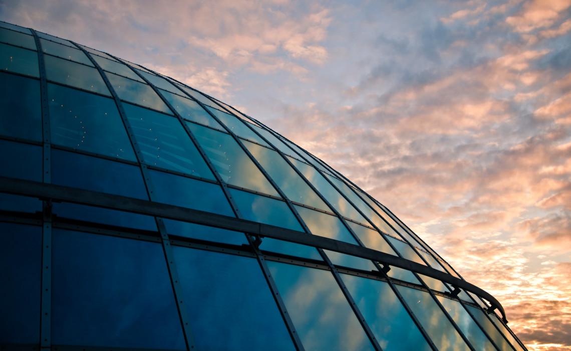 Spaceship over Reykjavik Perlan Architecture Architektur Sunset Sonnenuntergang Sky Himmel