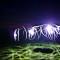 Spinning round Night Nacht Lightpainting Langzeitbelichtung