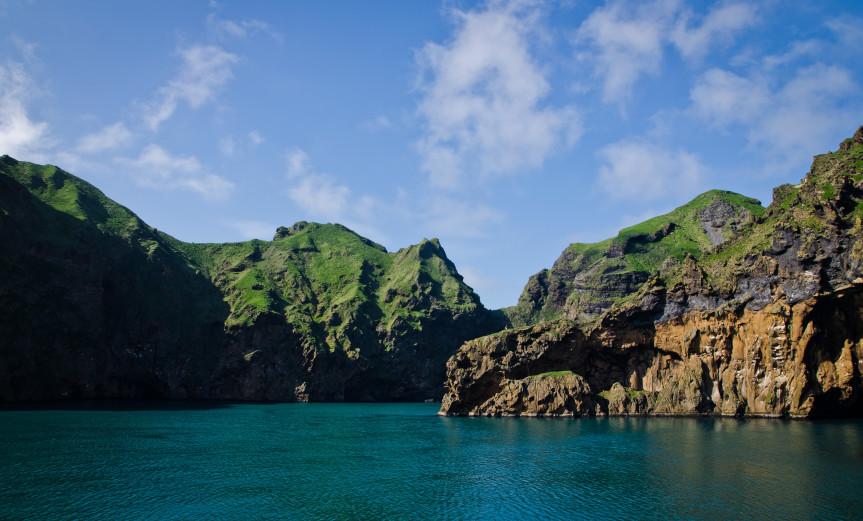 Turquoise Vestmannaeyjar Westmänner Iceland Island Summer Sommer Water Wasser
