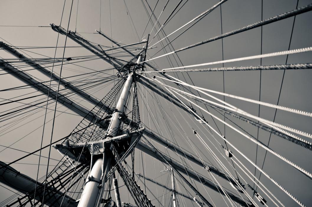 Vertigo Training Ship Kruzenshtern Schulschiff Schiff