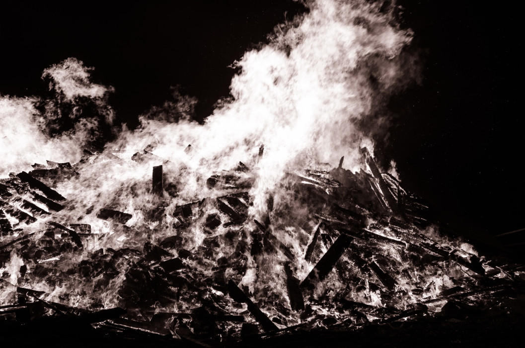 Heat Bonfire Fire Feuer Easter Oster Osterfeuer Night Nacht